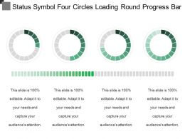 Status Symbol Four Circles Loading Round Progress Bar 1