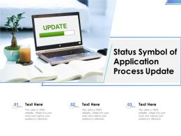 Status Symbol Of Application Process Update