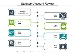 Statutory Account Review Ppt Powerpoint Presentation Ideas Visuals Cpb