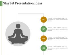 Stay Fit Presentation Ideas