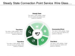 Steady State Connection Point Service Wire Glass Electric Meter