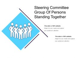 Steering Committee Group Of Persons Standing Together