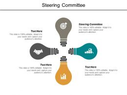 Steering Committee Ppt Powerpoint Presentation Outline Master Slide Cpb