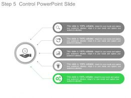 Step5 Control Powerpoint Slide