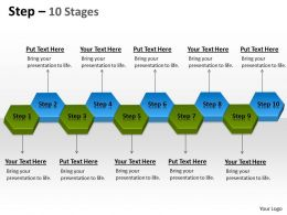 Step 10 Stages 18