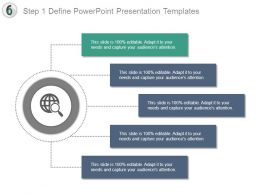 Step 1 Define Powerpoint Presentation Templates
