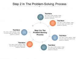 Step 2 In The Problem Solving Process Ppt Powerpoint Presentation Gallery Master Slide Cpb