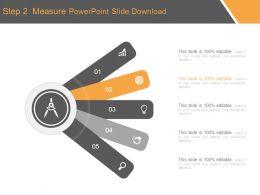 Step 2 Measure Powerpoint Slide Download