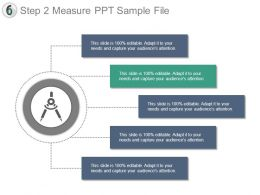 Step 2 Measure Ppt Sample File