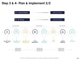 Step 3 And 4 Plan And Implement Strategy Ppt Powerpoint Presentation Inspiration Show