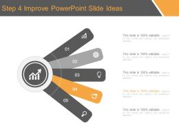 Step 4 Improve Powerpoint Slide Ideas