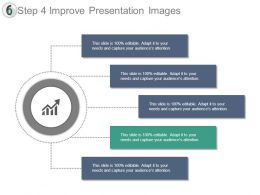 Step 4 Improve Presentation Images