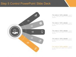 Step 5 Control Powerpoint Slide Deck