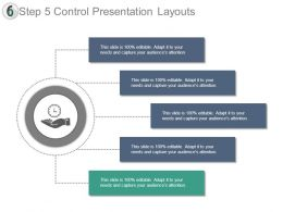 Step 5 Control Presentation Layouts