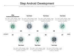 Step Android Development Ppt Powerpoint Presentation Gallery Display Cpb