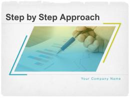 Step By Step Approach Powerpoint Presentation Slides