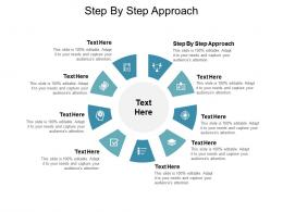 Step By Step Approach Ppt Powerpoint Presentation Styles Example Introduction Cpb