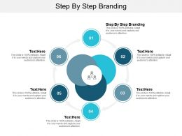 Step By Step Branding Ppt Powerpoint Presentation Infographic Template Styles Cpb