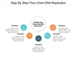 Step By Step Flow Chart DNA Replication Ppt Powerpoint Presentation Pictures Cpb
