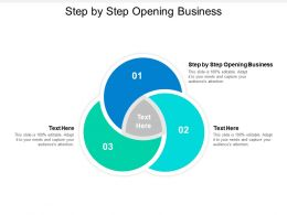 Step By Step Opening Business Ppt Powerpoint Presentation Layouts Example Introduction Cpb