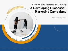 Step By Step Process For Creating And Developing Successful Marketing Campaigns Complete Deck