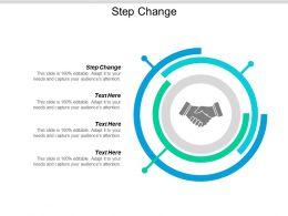 Step Change Ppt Powerpoint Presentation Model Sample Cpb