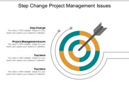 Step Change Project Management Issues Risk Management Opportunities Cpb