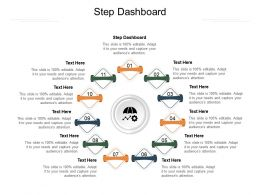 Step Dashboard Ppt Powerpoint Presentation Model Inspiration Cpb