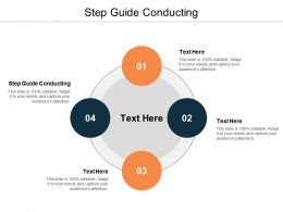 Step Guide Conducting Ppt Powerpoint Presentation Show Example Cpb