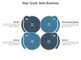 Step Guide Start Business Ppt Powerpoint Presentation Model Visual Aids Cpb