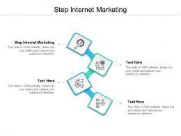Step Internet Marketing Ppt Powerpoint Presentation Summary Templates Cpb