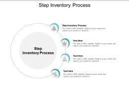 Step Inventory Process Ppt Powerpoint Presentation Summary Graphic Images Cpb
