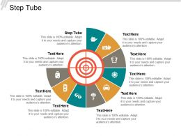 step_tube_ppt_powerpoint_presentation_portfolio_shapes_cpb_Slide01