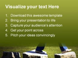 Stepping People PowerPoint Template 0610  Presentation Themes and Graphics Slide02