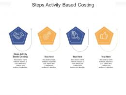 Steps Activity Based Costing Ppt Powerpoint Presentation File Slide Download Cpb
