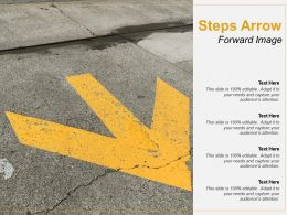 Steps Arrow Forward Image