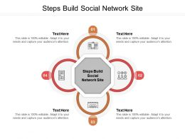 Steps Build Social Network Site Ppt Powerpoint Presentation Model Examples Cpb