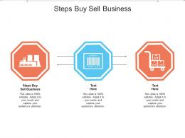 Steps Buy Sell Business Ppt Powerpoint Presentation Icon Design Inspiration Cpb