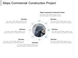 Steps Commercial Construction Project Ppt Powerpoint Presentation Styles Slide Cpb