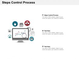 Steps Control Process Ppt Powerpoint Presentation Ideas Maker Cpb