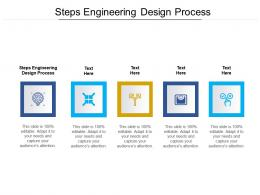 Steps Engineering Design Process Ppt Powerpoint Presentation Summary Images Cpb
