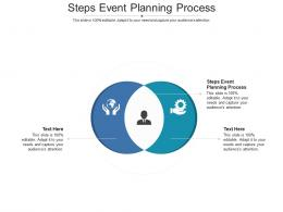 Steps Event Planning Process Ppt Powerpoint Presentation Outline Picture Cpb