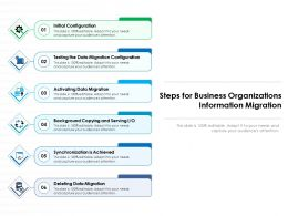 Steps For Business Organizations Information Migration