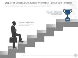 steps_for_success_and_career_promotion_powerpoint_template_Slide01