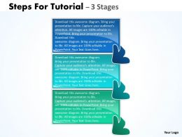 Steps For Tutorial 3 Stages 43