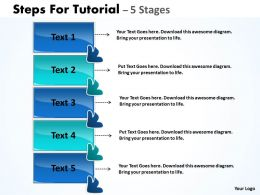 Steps For Tutorial 5 Stages