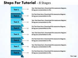 Steps For Tutorial 8 Stages 21