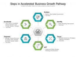 Steps In Accelerated Business Growth Pathway