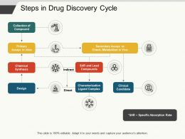 Steps In Drug Discovery Cycle