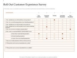 Steps Increase Customer Engagement Business Growth Roll Out Customer Experience Survey Ppt Rules